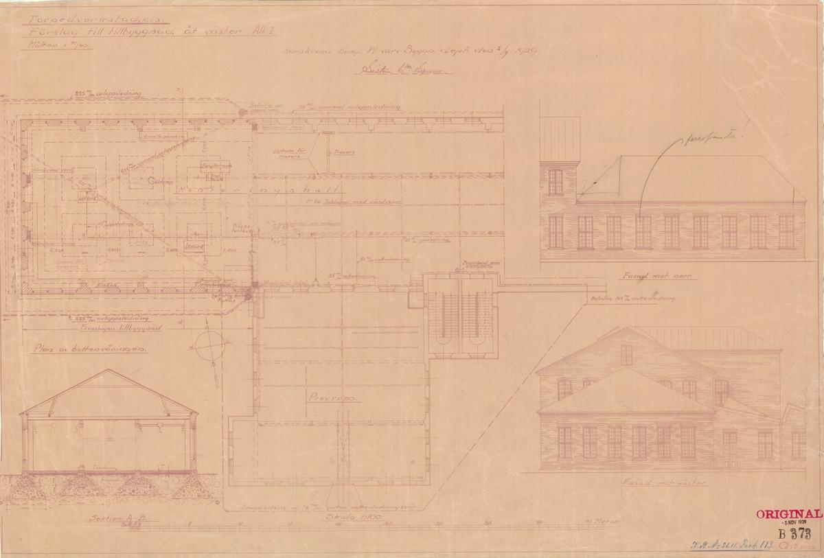 Byggnadsritning - detaljritning.