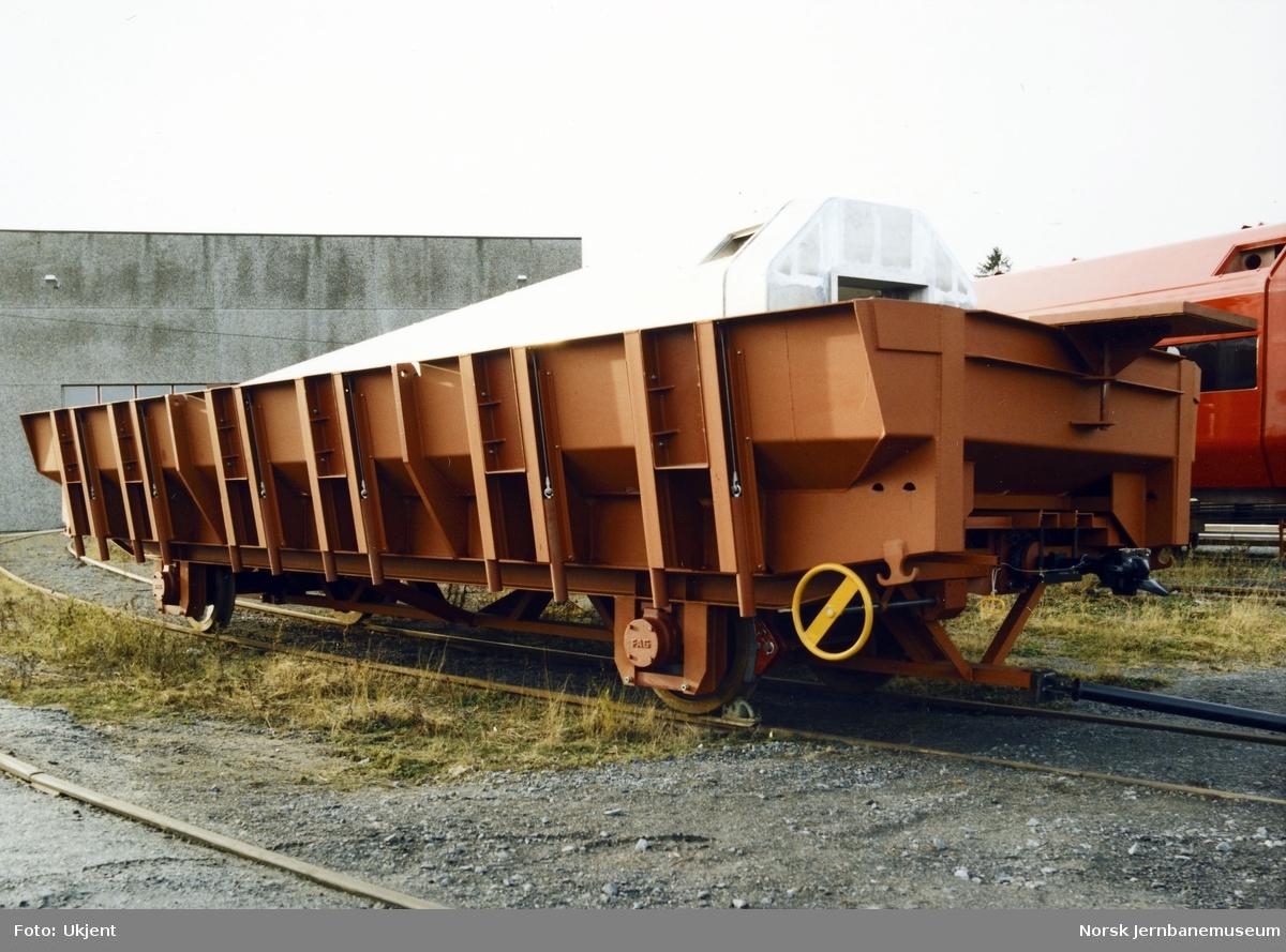 Tappevogn bygget for Ilmenittsmelteverket i Tyssedal