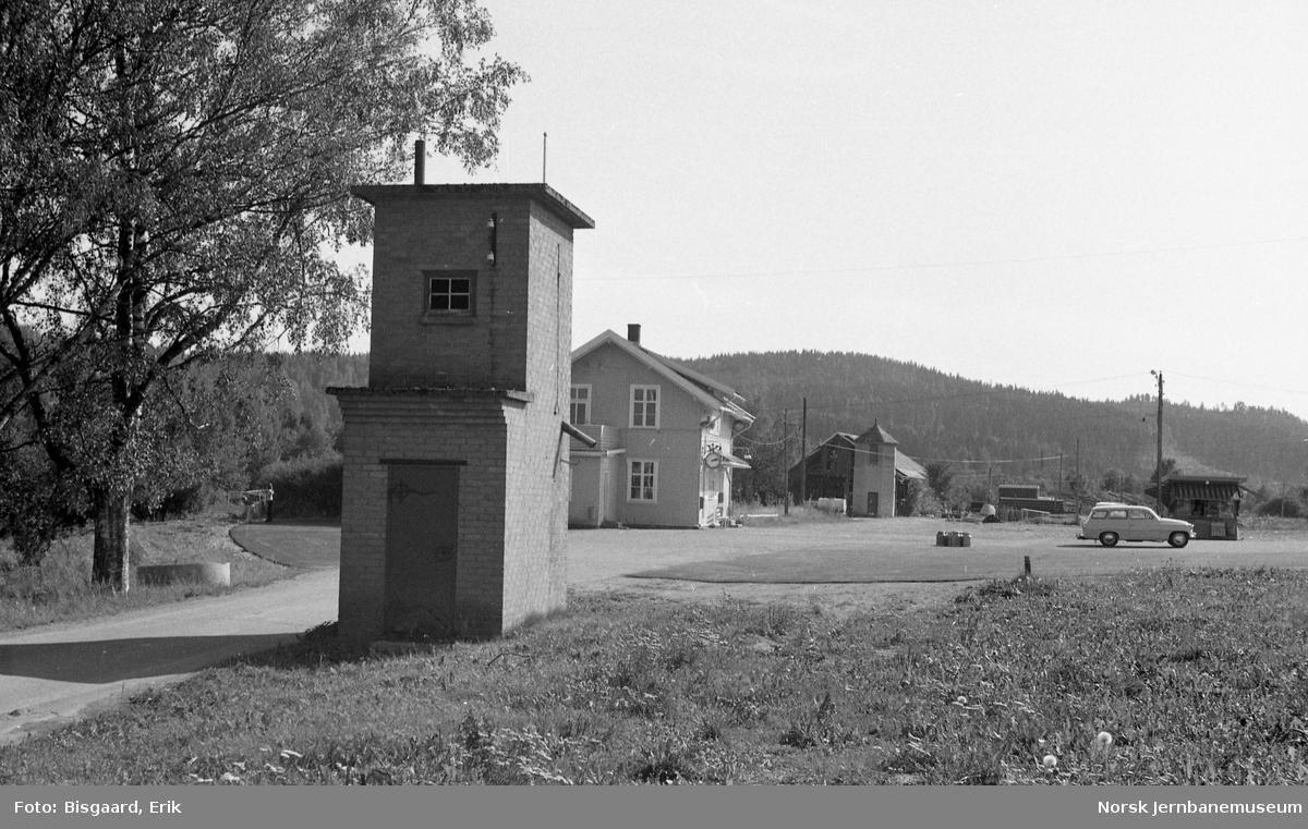 Bjørkelangen stasjon - oversiktsbilde