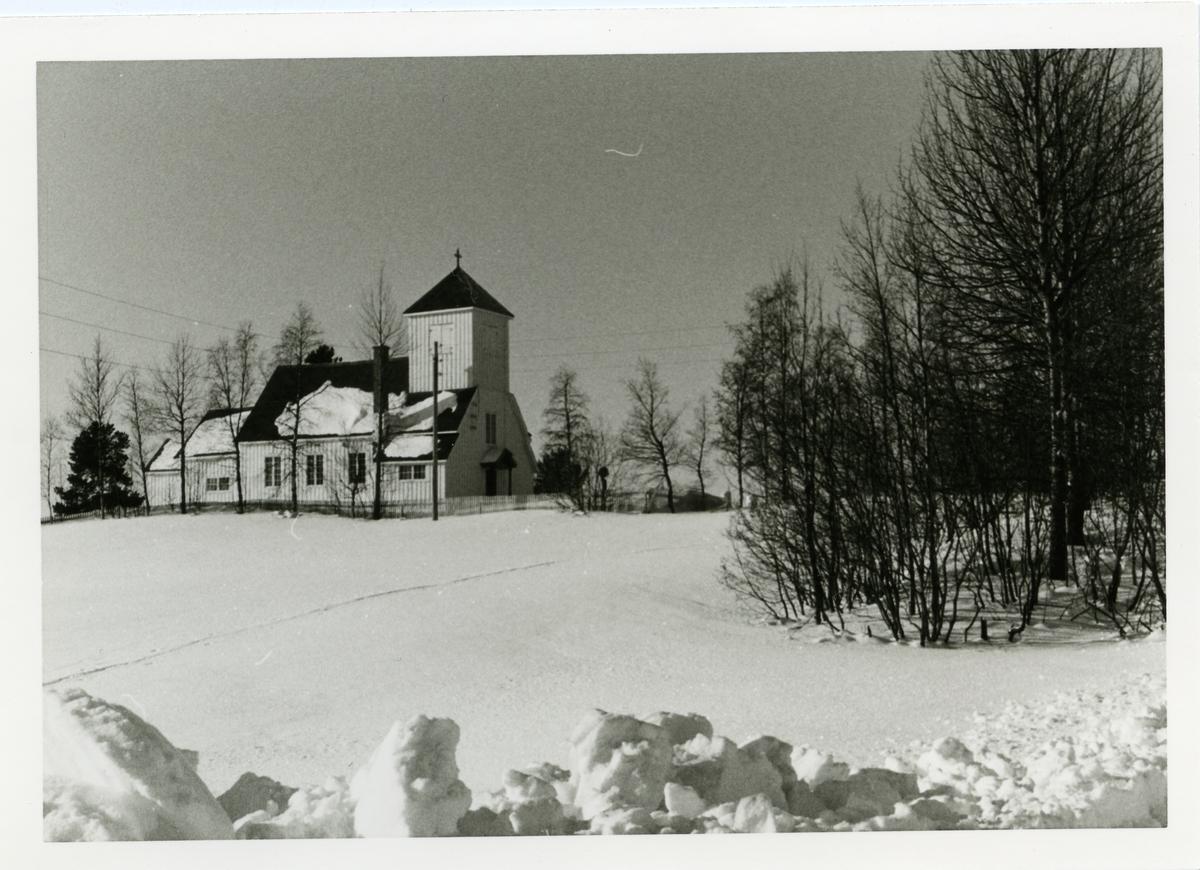 Leirskogen kapell, Sør-Aurdal i Valdres. Leirskogen kapell var opprinnelig fra 1924. I 1955 ble det vedtatt at kapellet skulle være et ordinært kirkebygg.