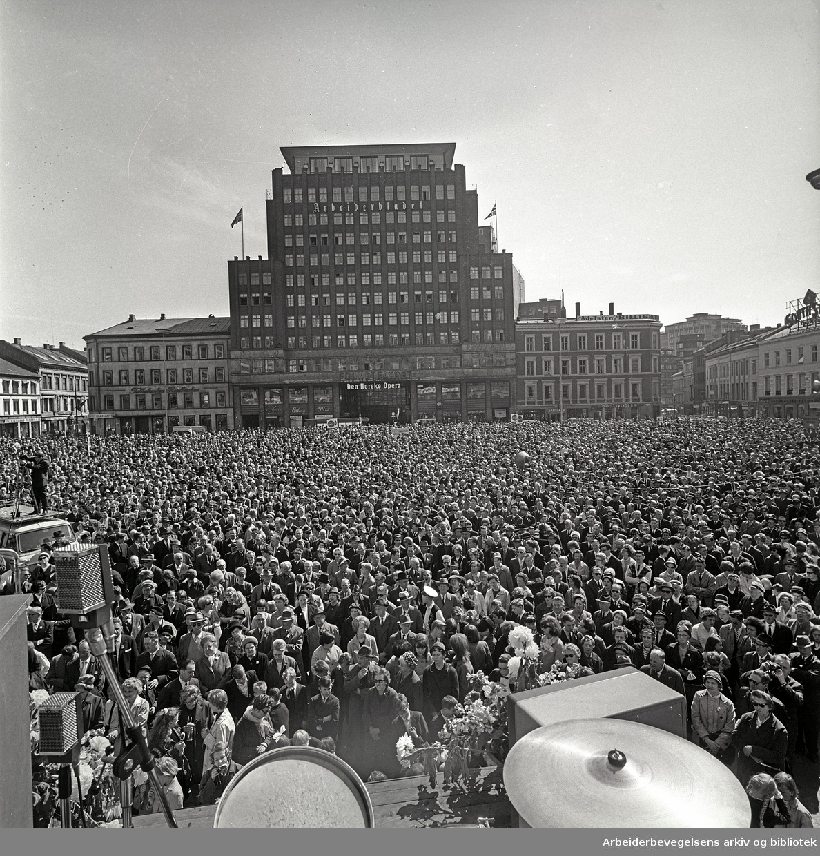 1. mai 1965, Youngstorget.