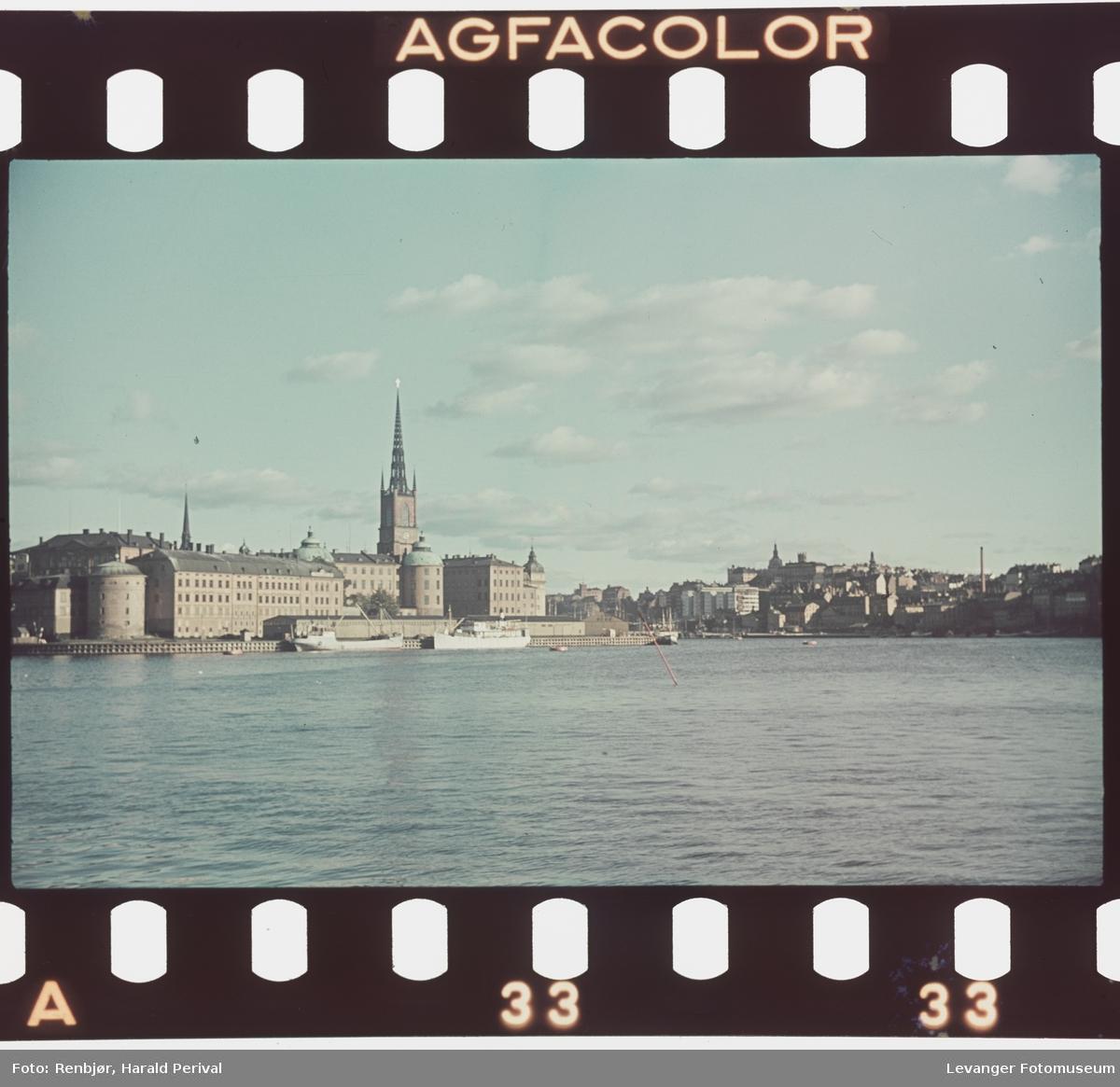 Fra Stockholm, Riddarholmen.