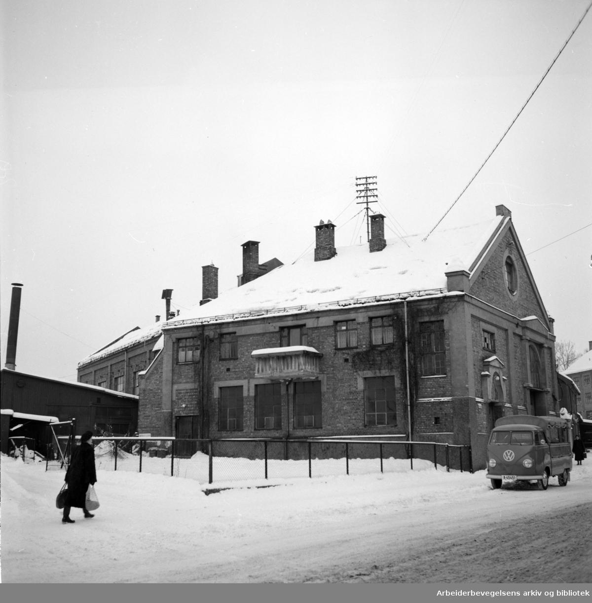 Åsengata. Torshov Arbeideravholdslag, Åsengata 12..Februar 1954