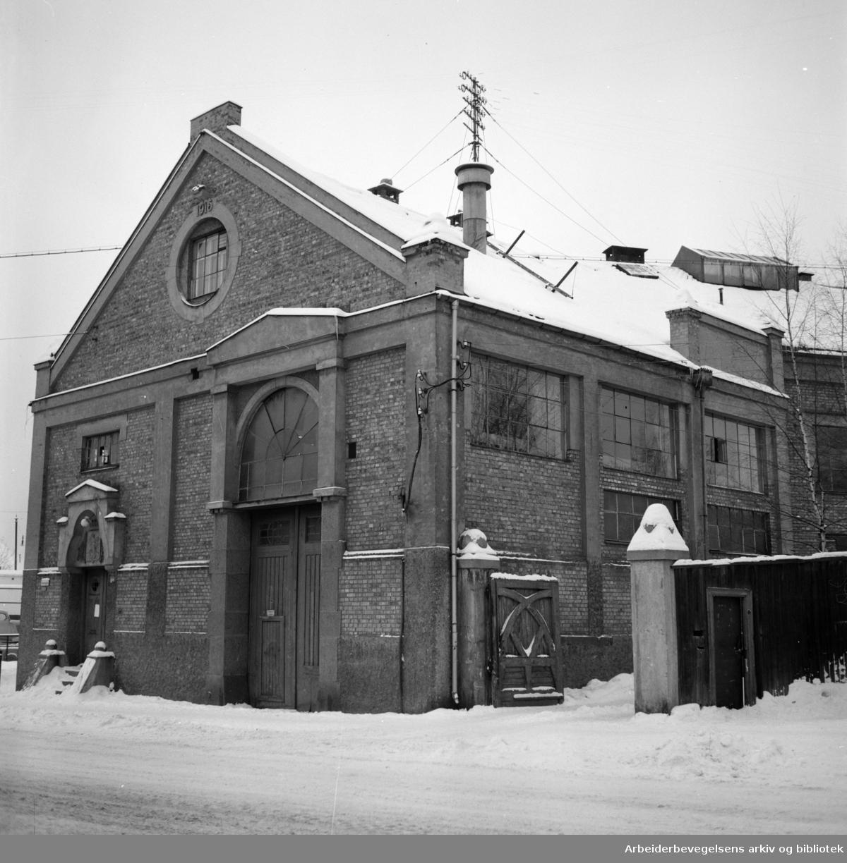 Torshov Arbeideravholdslag, Åsengata 12,.februar 1954