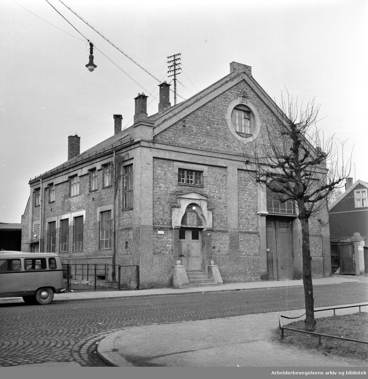 Åsengata. Torshov Arbeideravholdslag, Åsengata 12..Mars 1960