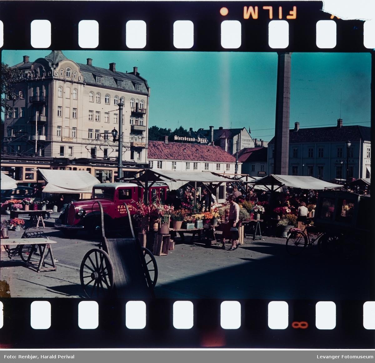 Torghandel i Trondheim.