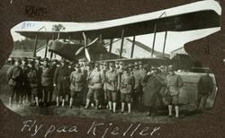 Fly på Kjeller 1919 dobbeldekker fra Det norske flyvåpen