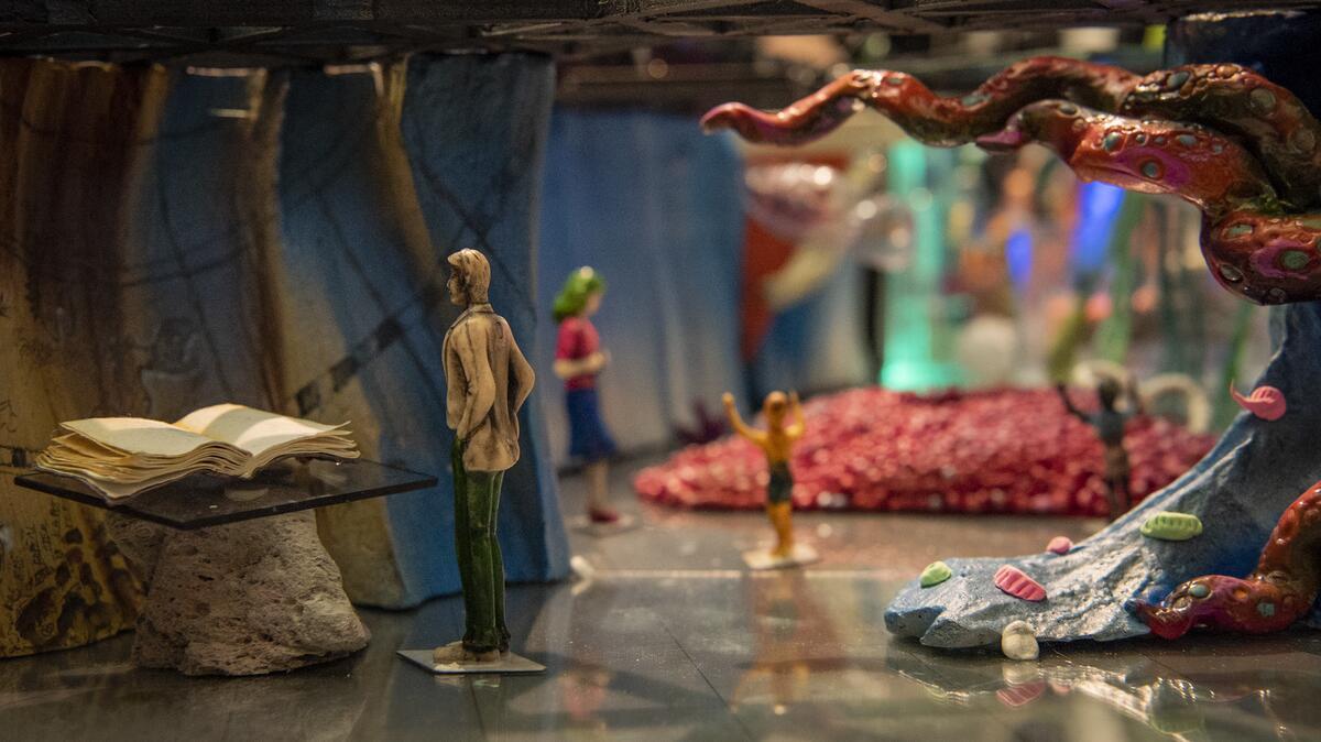 modell av utstilling som kommer (Foto/Photo)