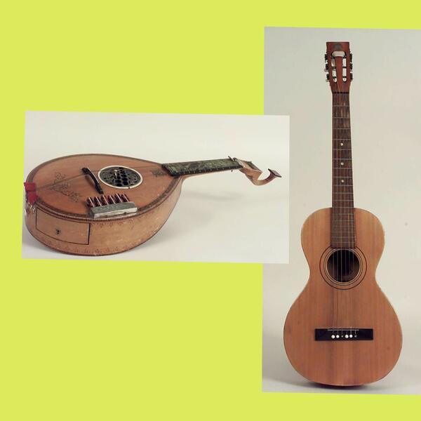 Guitarre og gitar. Foto/Photo