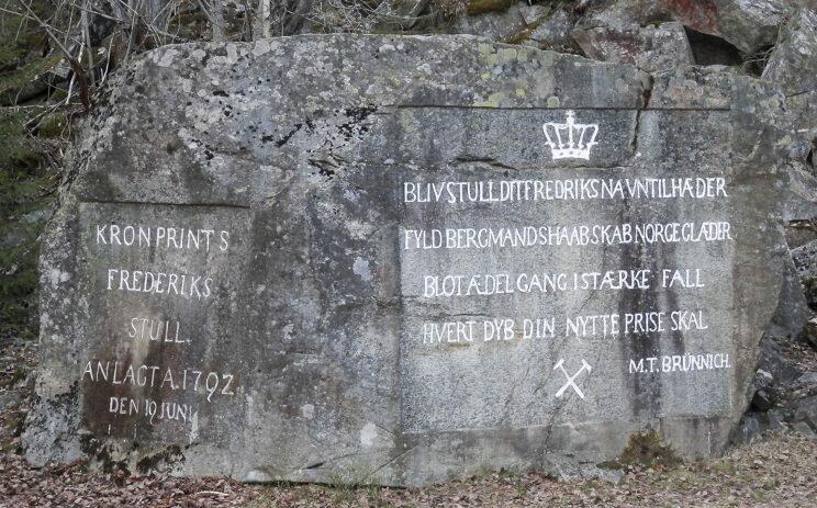 Turmål - Kronprins Frederiks stoll (Foto/Photo)