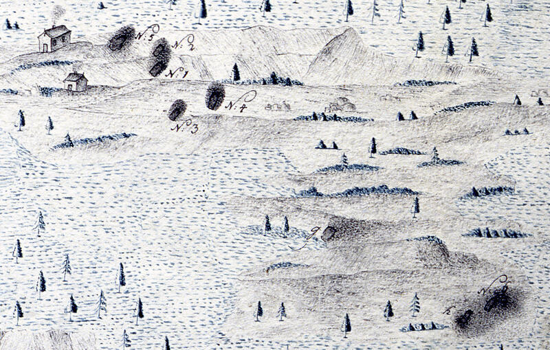 Kart Helegvannsgruvene (Foto/Photo)