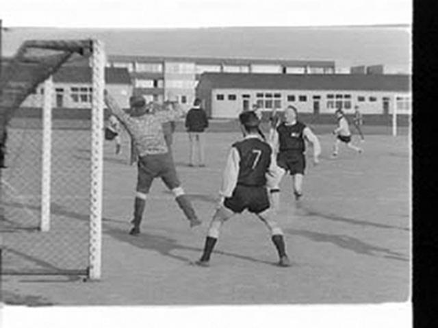 Fotboll vid Pilängspaviljongerna