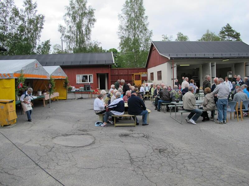 Fra Ørjedagen 2012. Foto: Ukjent/Norsk vegmuseum (Foto/Photo)