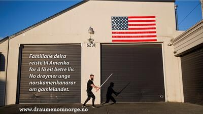 Den amerikanske drømmen om Norge. Foto/Photo