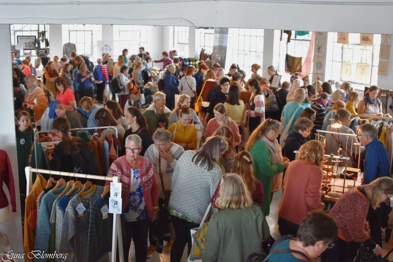 på markedet på Bergen Strikkefestival 2019 (Foto/Photo)