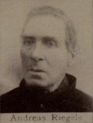 Halvsjeider Andreas Riegels (1823-1891) (Foto/Photo)
