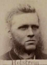 Pukkverksoppseer Nils J. Holstrøm (1844-1926) (Foto/Photo)
