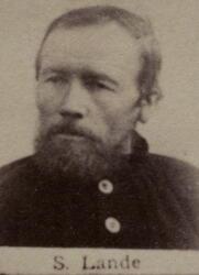 Vedhugger Steffen Lande (1828-1908 (Foto/Photo)