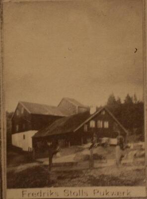 Historisk bilde, Frederiks stolls pukkverk (Foto/Photo)