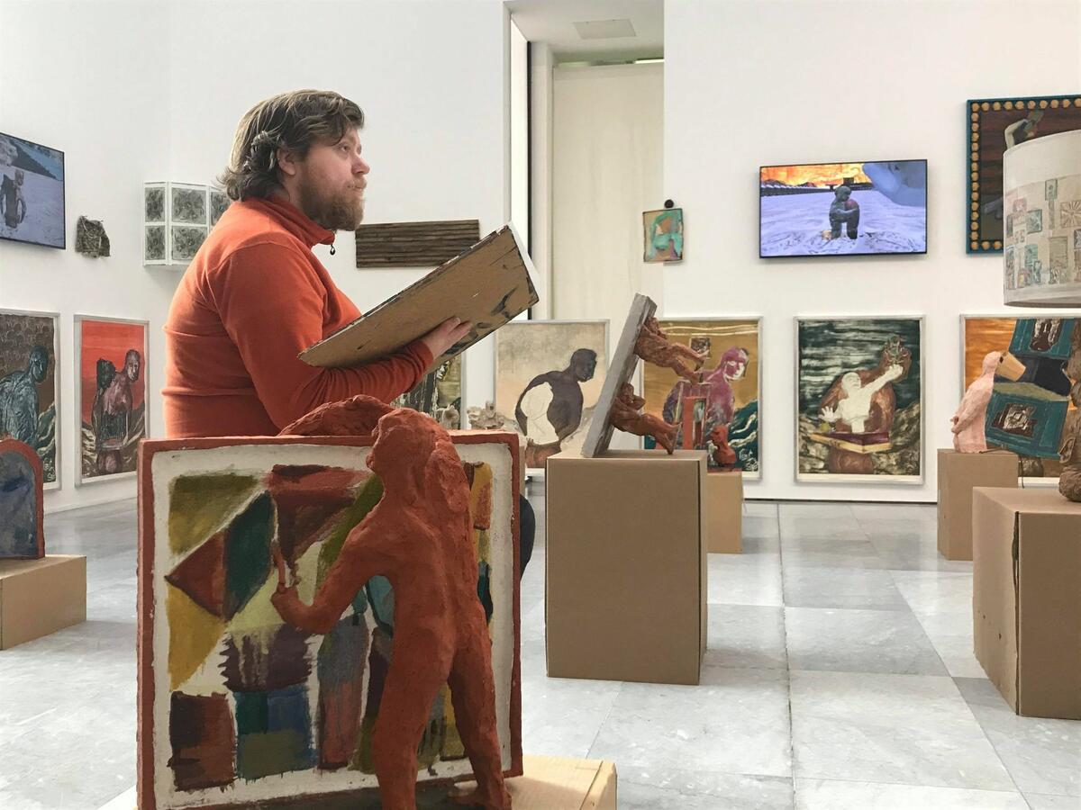 VI tegner: Lorck Schive Kunstpris 2021! (Foto/Photo)