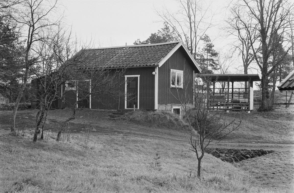 Källarstuga, Svia 3:7, Enbacken, Vaksala socken, Uppland 1978