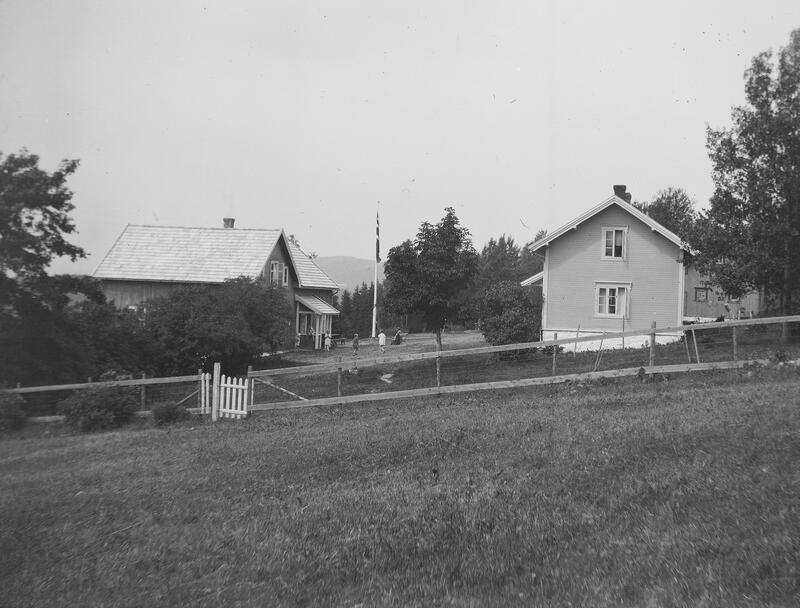 Borgen feriekoloni, Veldre, Ringsaker. Foto: Karl Andreas Diesen/Anno Domkirkeodden. (Foto/Photo)