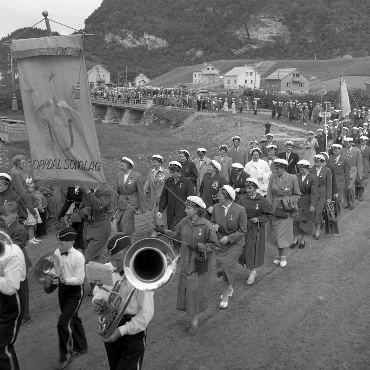 Sangerstevne i Buvika arrangert av Orkla og Gauldal Sangerforbund