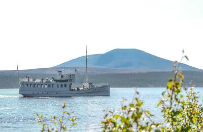 M/S Fæmund II - under seilas. Foto/Photo