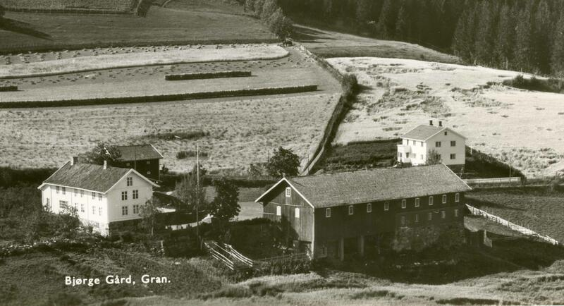 Bjørge gård og pensjonat, Gran. Foto: Randsfjordmuseet. (Foto/Photo)