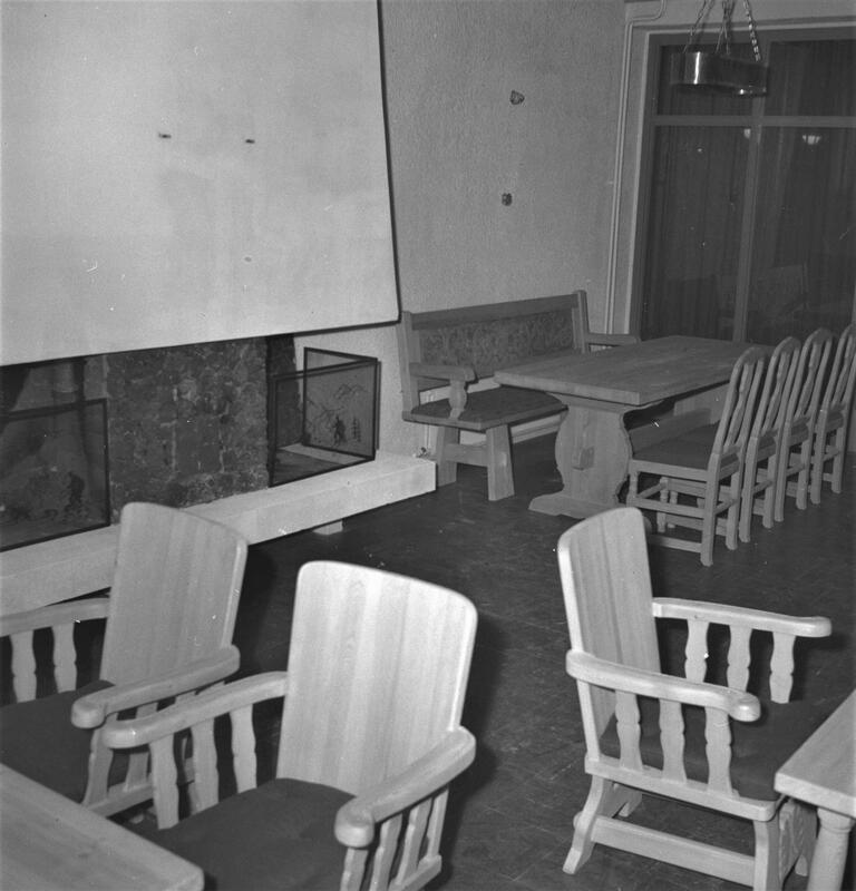 Hummelfjell hotell, Os, 1961. Foto: Per Magne Grue/Anno Musea i Nord-Østerdalen. (Foto/Photo)