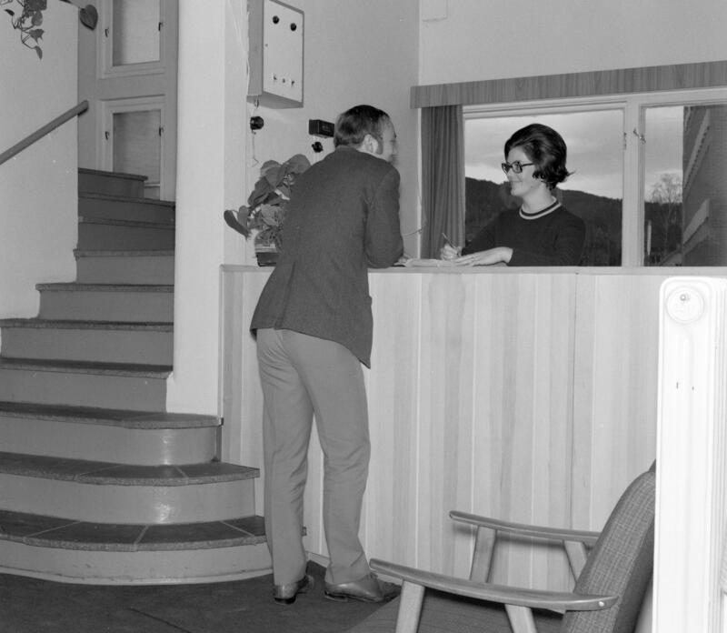 Grand Hotell, Brumunddal, 1970. Foto: Magne Lilleøen/Anno Domkirkeodden. (Foto/Photo)