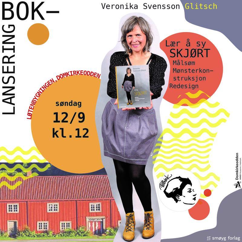 Plakat for boklansering med Veronika Svensson Glitsch (Foto/Photo)