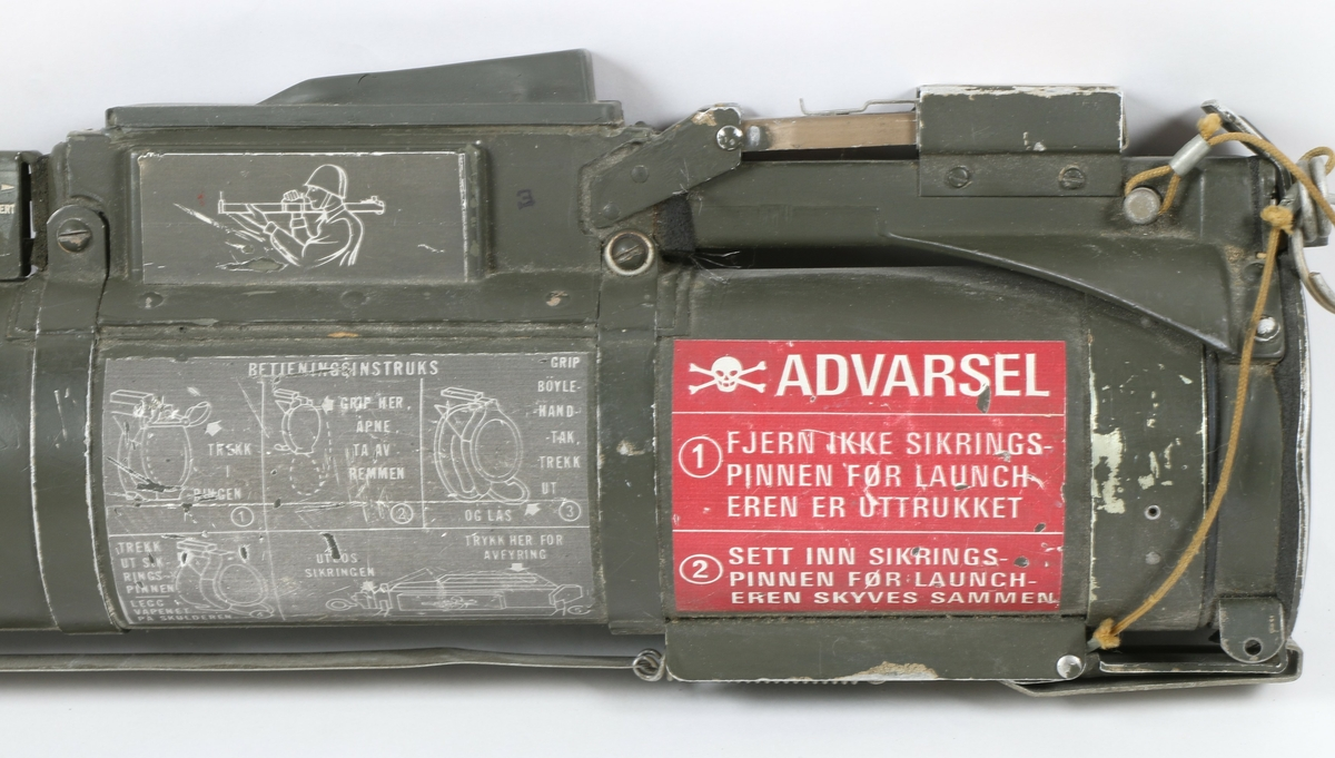 Rakett hulladning 66mm M/72