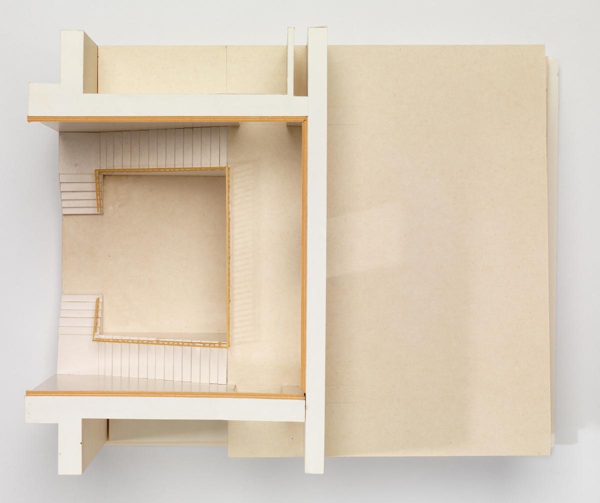 Nasjonalmuseet - Arkitektur [Studiemodell]