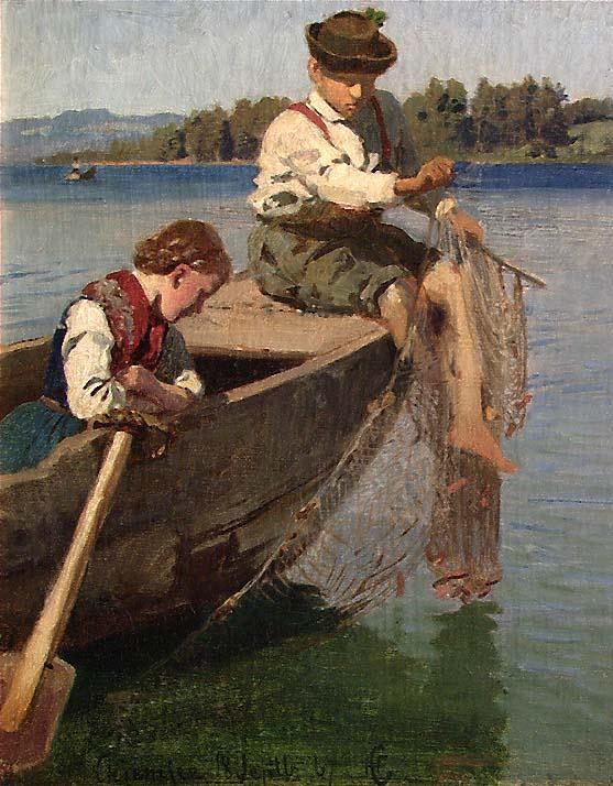 Fiskerbarn [Maleri]