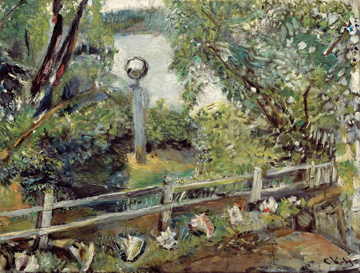 Haven med glasskulen [Maleri]