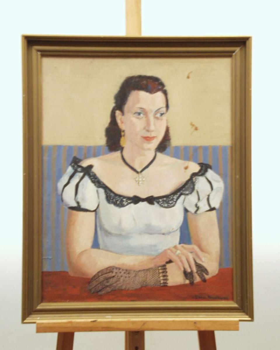 Portrett av Christianne Undset Svarstad.