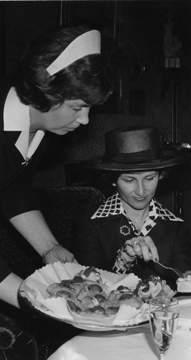 DOK:1975, Aulestad, jubileum, Kronprinsesse Sonja, repro