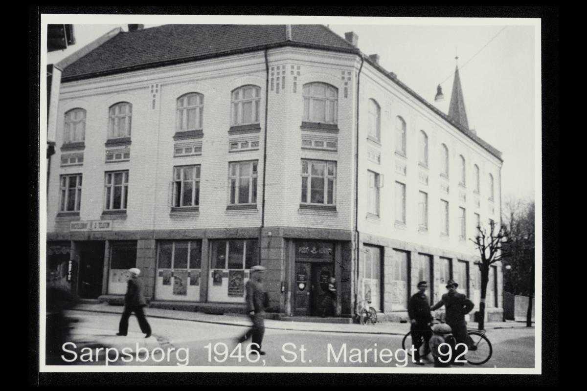 eksteriør, postkontor, 1700 Sarpsborg