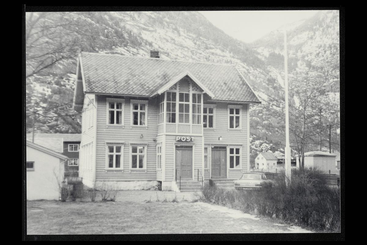 eksteriør, postkontor, 5890 Lærdal