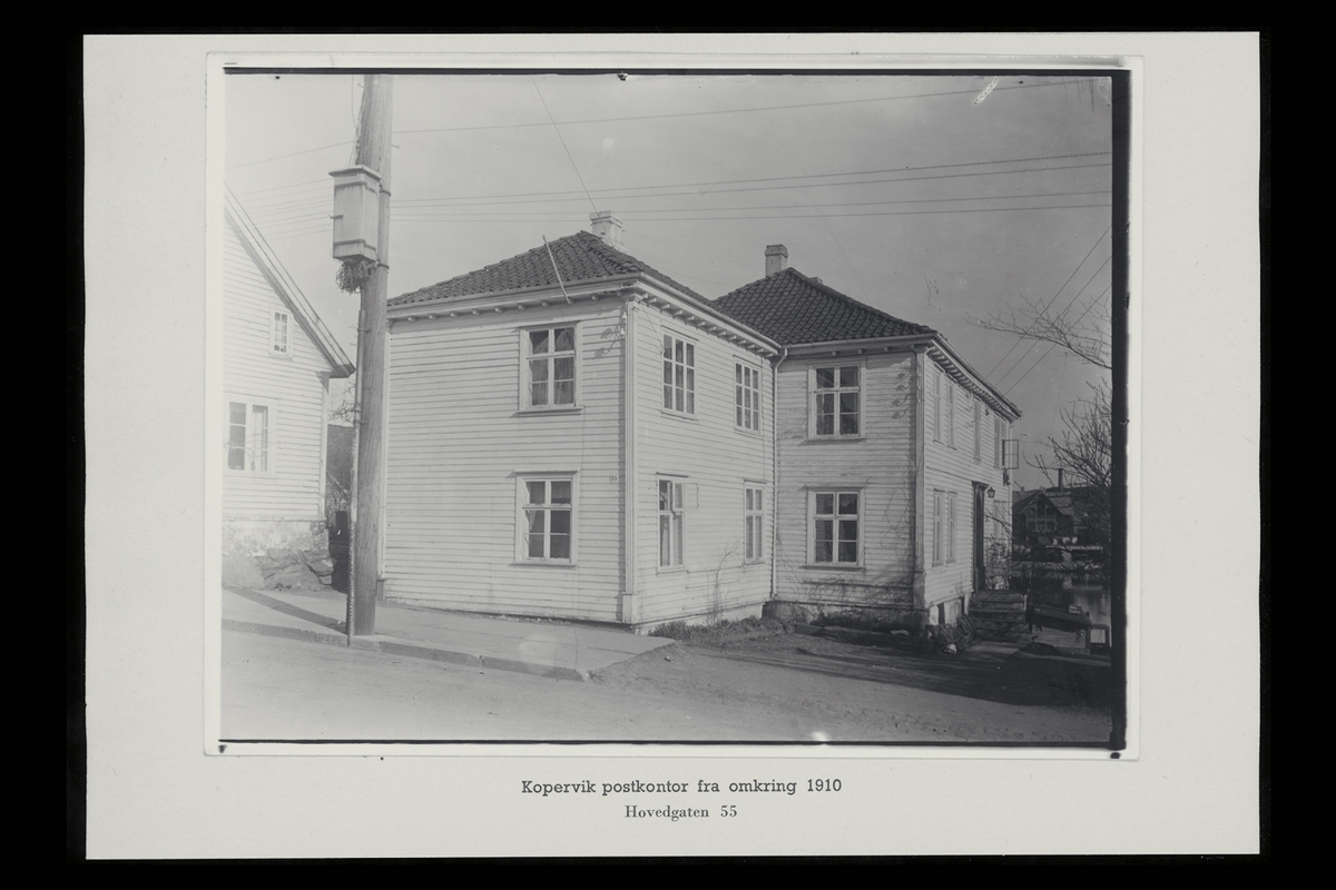 eksteriør, postkontor, 4250 Kopervik