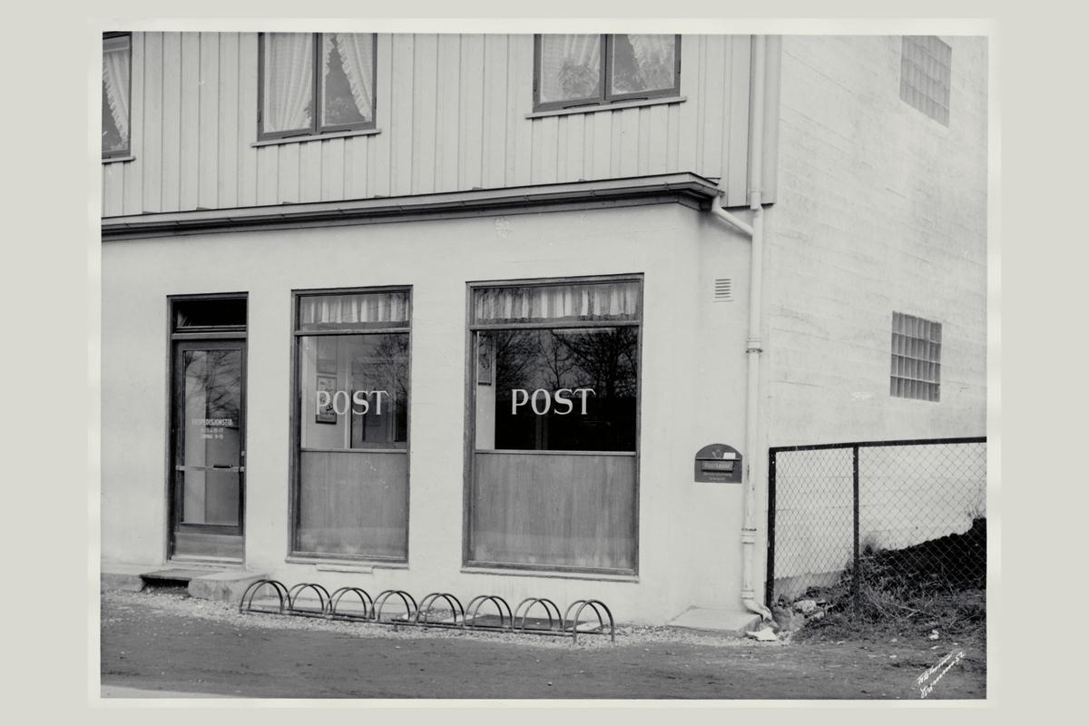 eksteriør, postkontor, 2010 Strømmen, innstikkpostkasse
