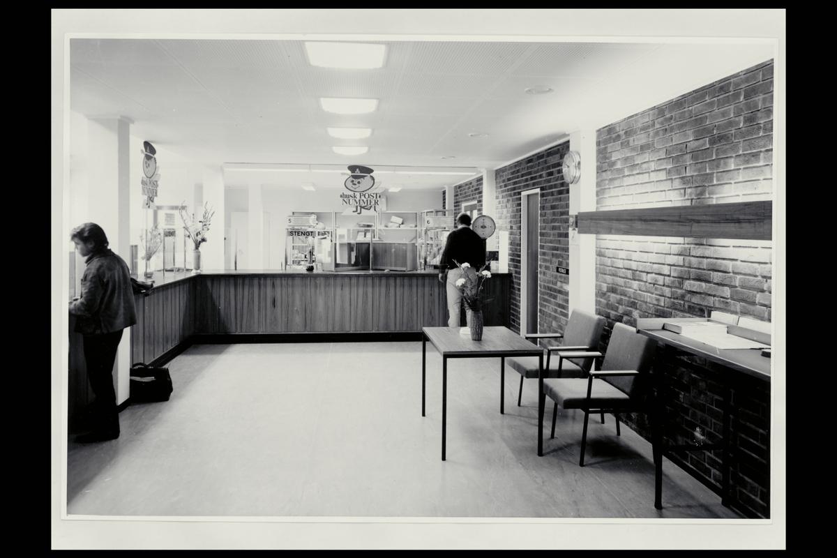 interiør, postkontor, 6900 Florø, vekt, kunder