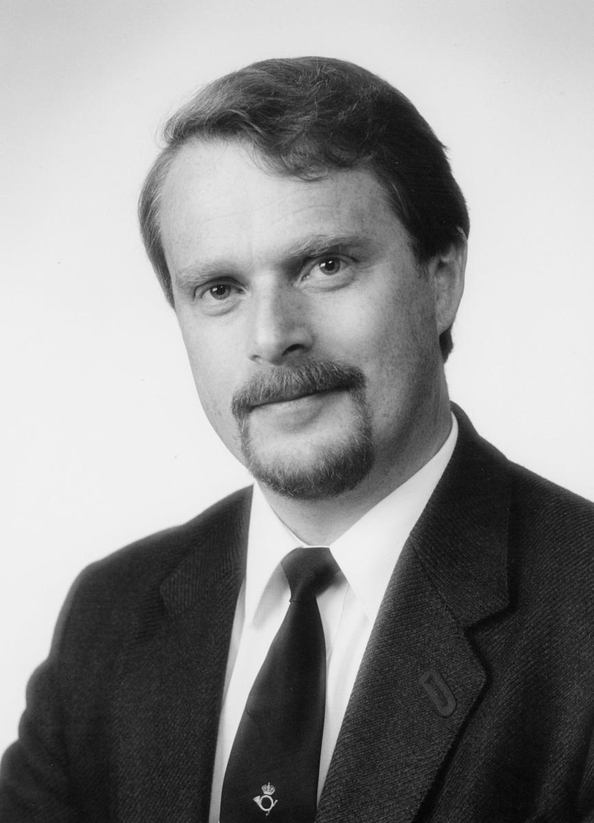 postsjef, Rognan Frank Werner, portrett