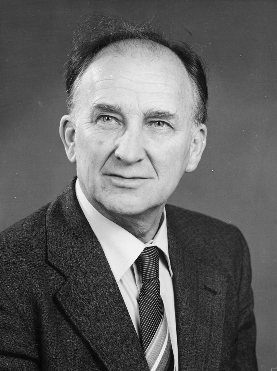 postsjef, Bukkvoll Otto Arnt, portrett