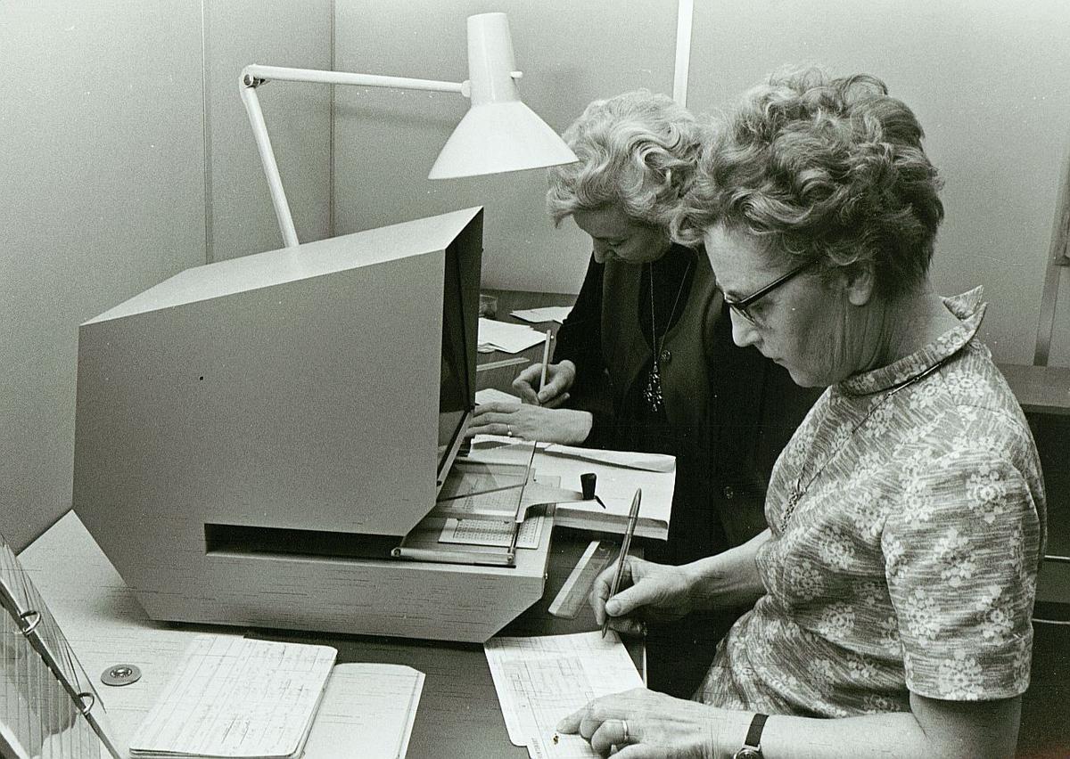 postsparebanken, Liv Rasmussen, Ruth Gresslien, rentepåføring, interiør