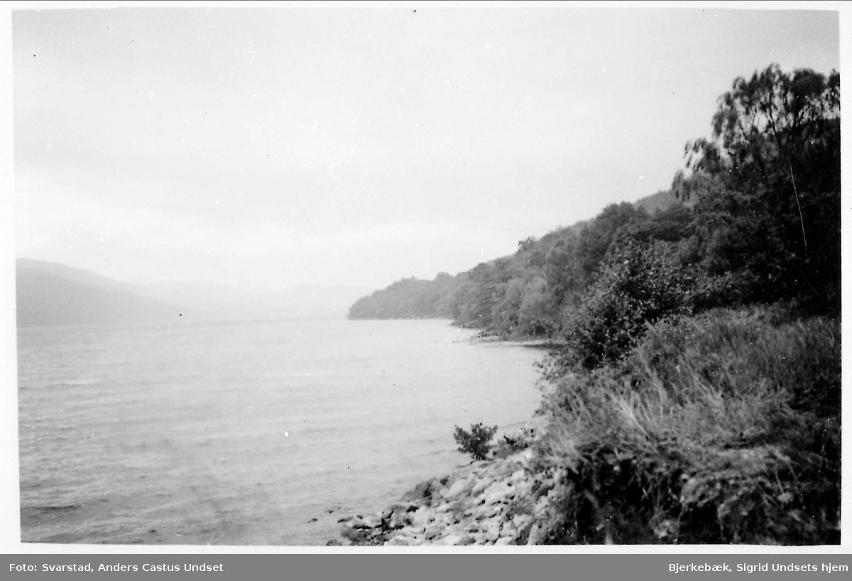 Landskap, innsjø