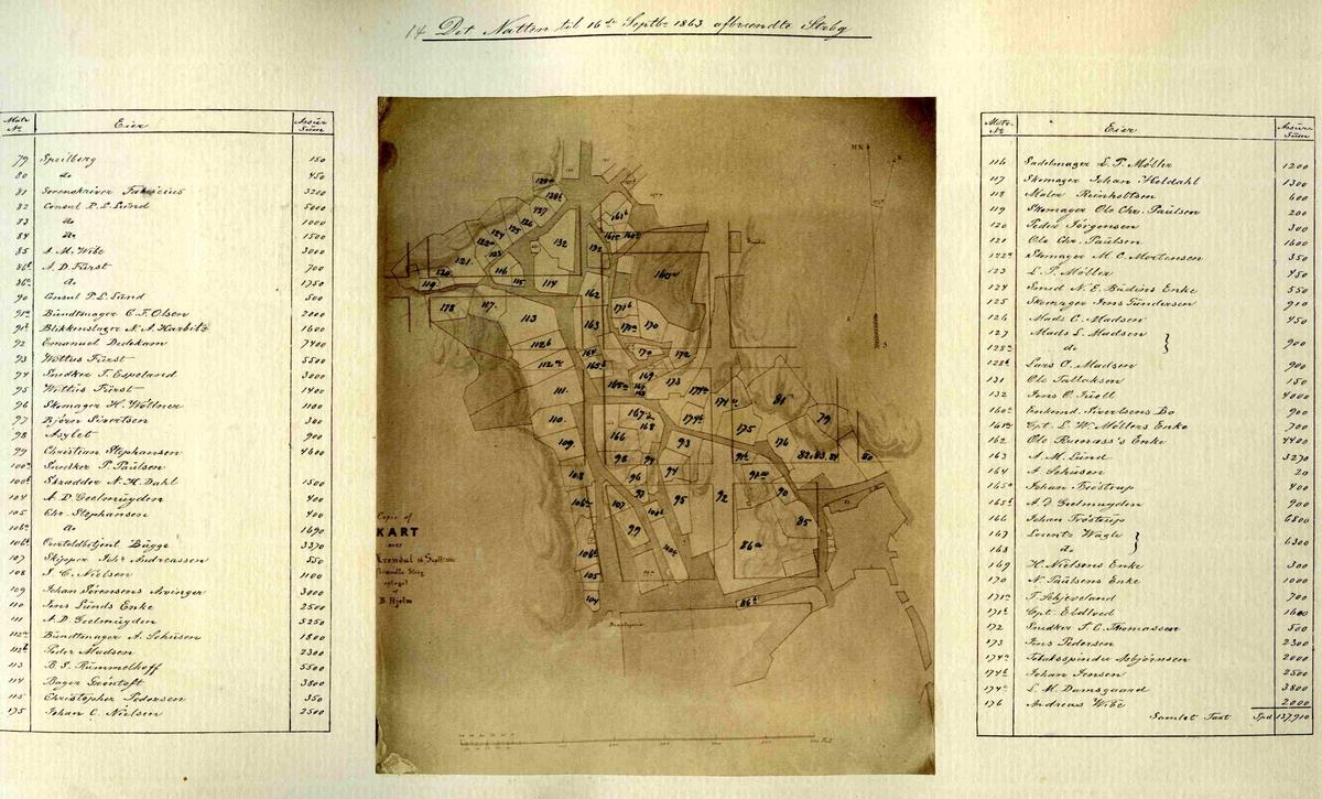 Kart over det nednrente området
