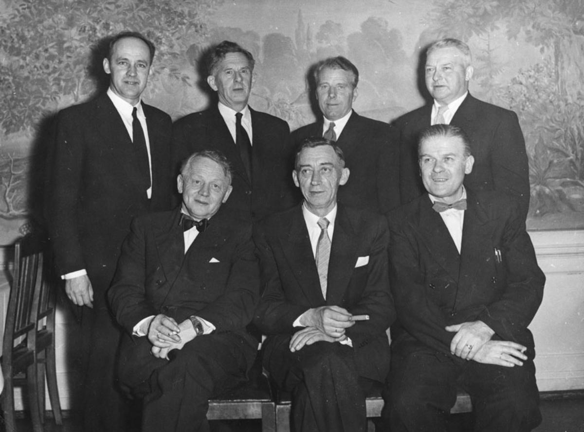 Ski kinostyre 1957 (avtroppende styre)