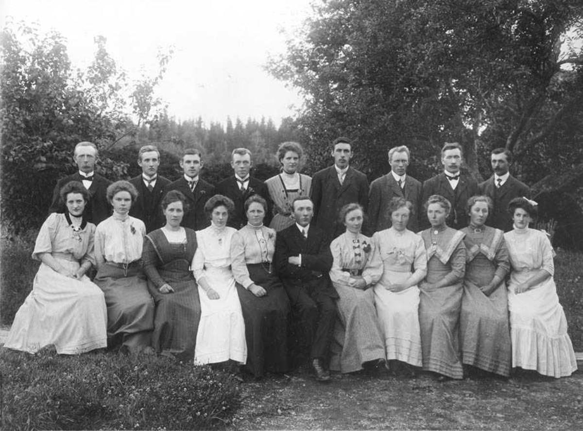 Ole Haugs sangkor 1913 - 1914.
